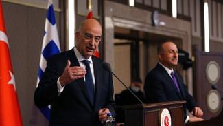 """Ελληνοτουρκικά: Η επόμενη μέρα μετά τη """"μετωπική"""" Δένδια - Τσαβούσογλου - Το μενού του δείπνου """"ιφτά"""