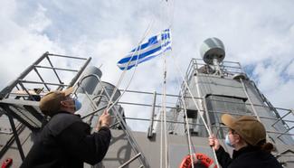 Οι Αμερικανοί 'Ύψωσαν την Ελληνική Σημαία στο …USS Dwight D. Eisenhower (CVN 69)