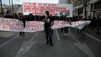 Φοιτητικά συλλαλητήρια σε Αθήνα και Θεσσαλονίκη κατά του νόμου για τα Πανεπιστήμια