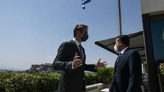 Ο Μητσοτάκης «εξαφάνισε» διαδικτυακά τη συνάντησή του με τον Ζάεφ