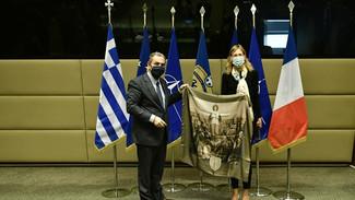 Εξελίξεις στην εμβάθυνση της Στρατηγικής συνεργασίας Ελλάδας-Γαλλίας - ΦΩΤΟ