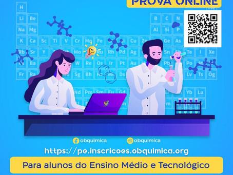 ETE Arcoverde participa da edição 2021 da Olimpíada Pernambucana de Química