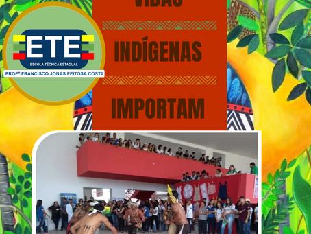 ETE Arcoverde comemora do Dia do índio virtualmente nas redes sociais