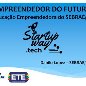 ETE Arcoverde participará do Startup Way .Tech. Clique aqui e CONFIRA: