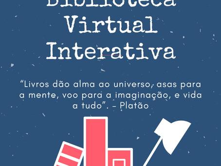 Biblioteca virtual da ETE Arcoverde criada pela coordenadora da Biblioteca, Katharina Lucena