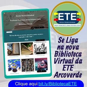 Biblioteca Virtual da ETE Arcoverde