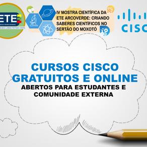 Cursos Cisco na ETE Arcoverde - Parceria da IV Mostra Científica