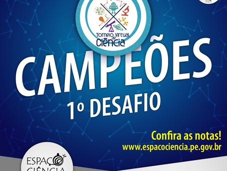 ETE Arcoverde estimula a participação dos seus estudantes no Torneio Virtual de Ciência
