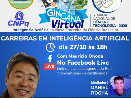 Live [SNCT] - Mauricio Onoda - Carreiras em IA