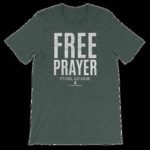 Free Prayer Tee | Emerald