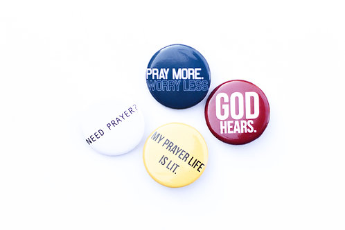 Prayer Pins | Pack 002