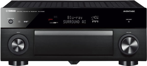 YAMAHA RX-A1080 AVENTAGE 7.2-Channel AV Receiver with MusicCast (Black)