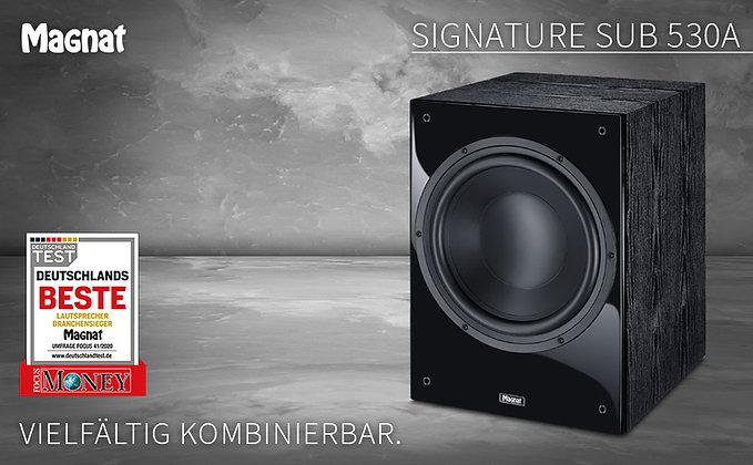 Magnat Signature Sub 530A (Black)