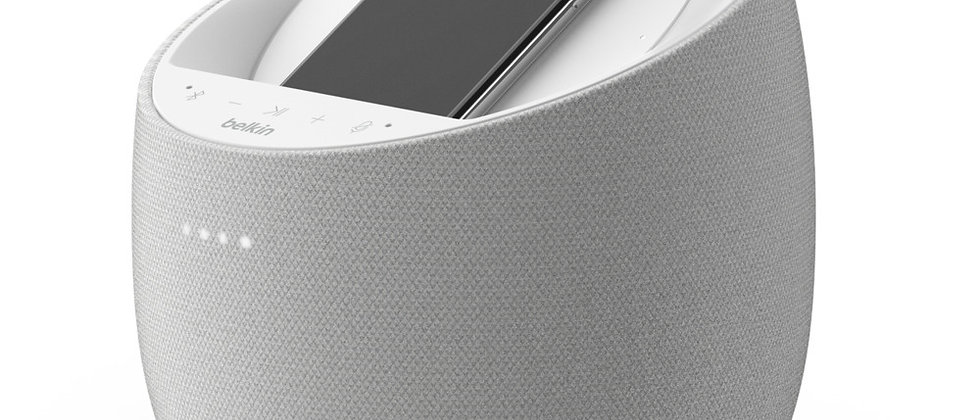 BELKIN SOUNDFORM™ ELITE - Hifi Smart Speaker + Wireless Charger (White)