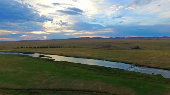 Laramie River in Wyoming