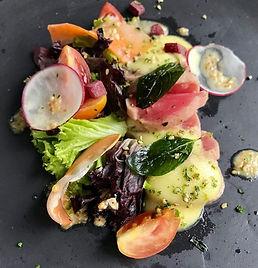 Sesame Tuna Aburi Tataki Salad