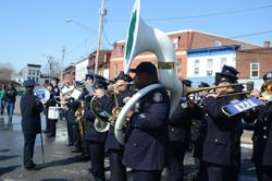 NYPD Band Playing NYNY
