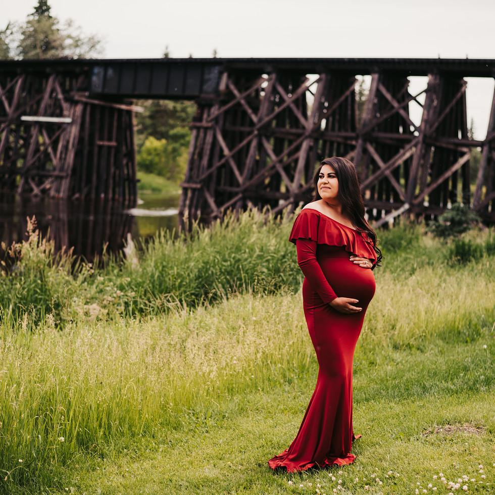 pregnant by bridge