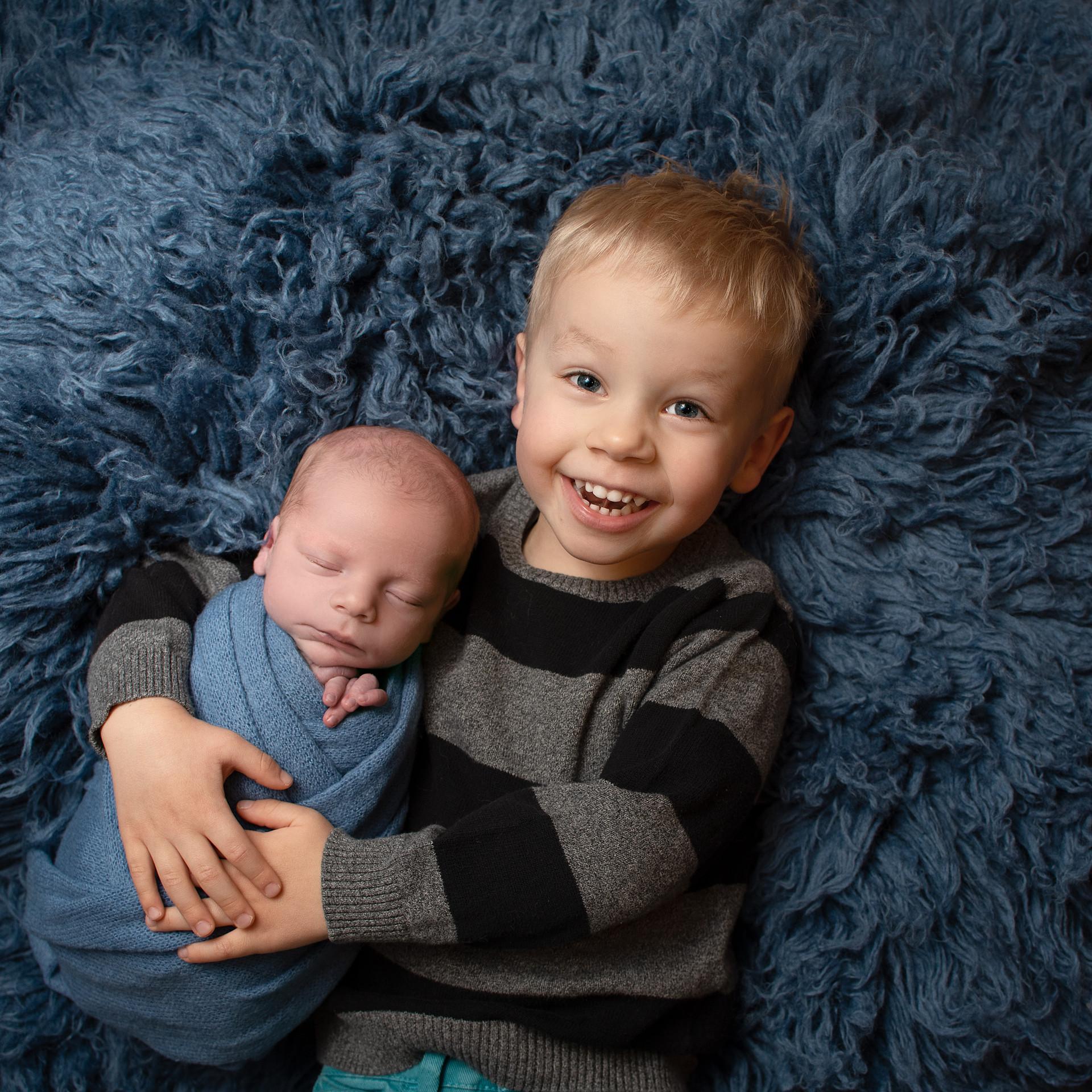 newborn and toddler