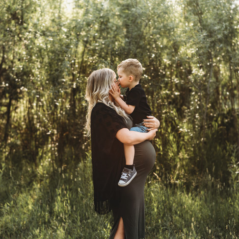 Maternity and son