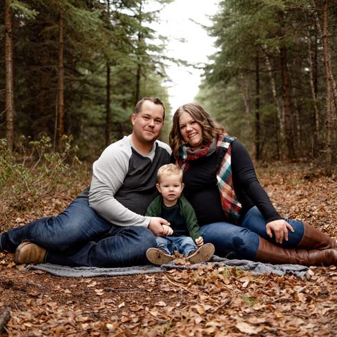 fall family phot