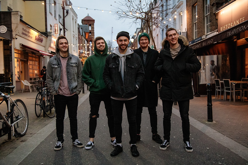 Photo of London Based Pop Punk Band Livonia By Sophie Doschall