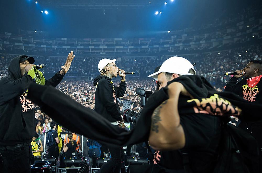Photo of Rapper Wiz Khalifa by Marcus Maschwitz