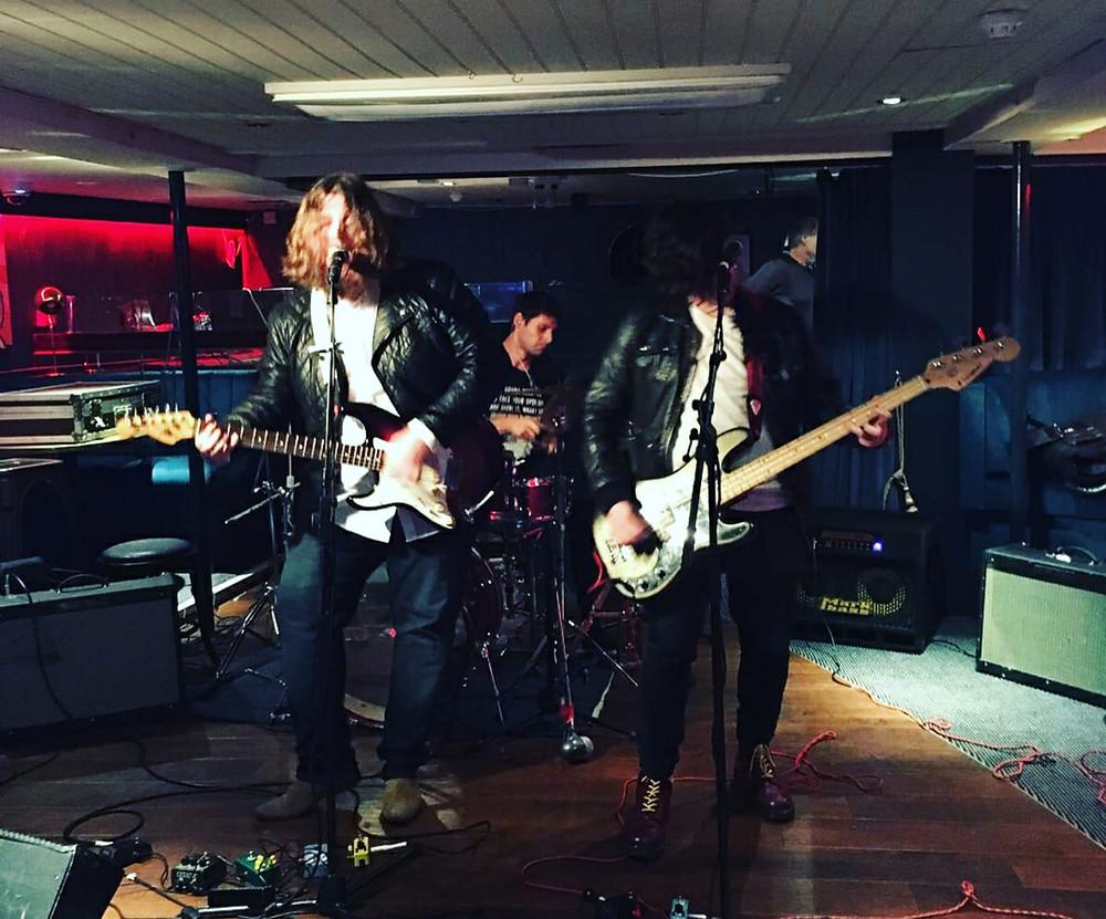 Photo of London based Indie Rock band Animal Breakdown by Paul Aylett