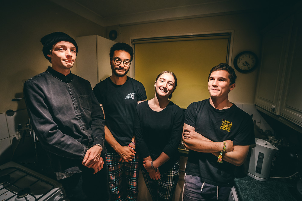 Photo of Basingstoke based Melodic Punk Rock band Buds. by Mike Ingram