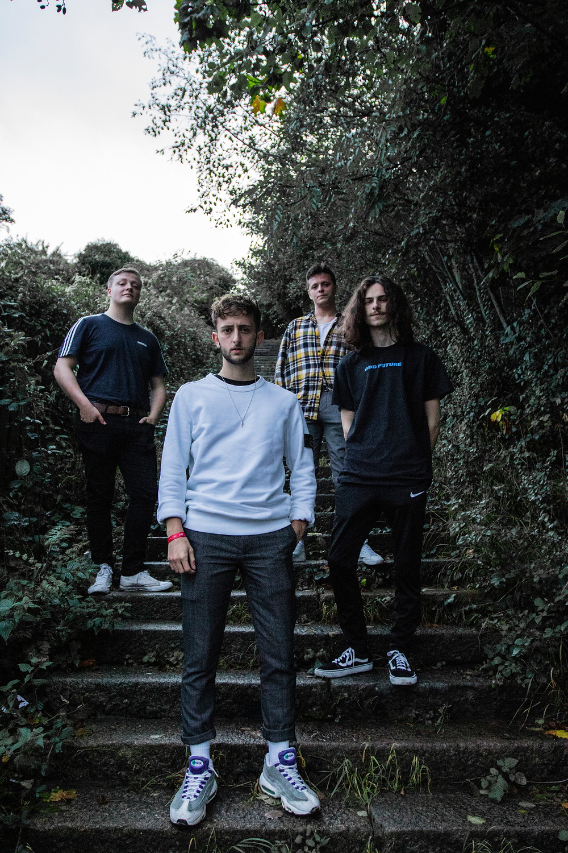 Photo of Sunderland Based Indie Rock Band Jarpsy by Scarlet Kane (Blindface)