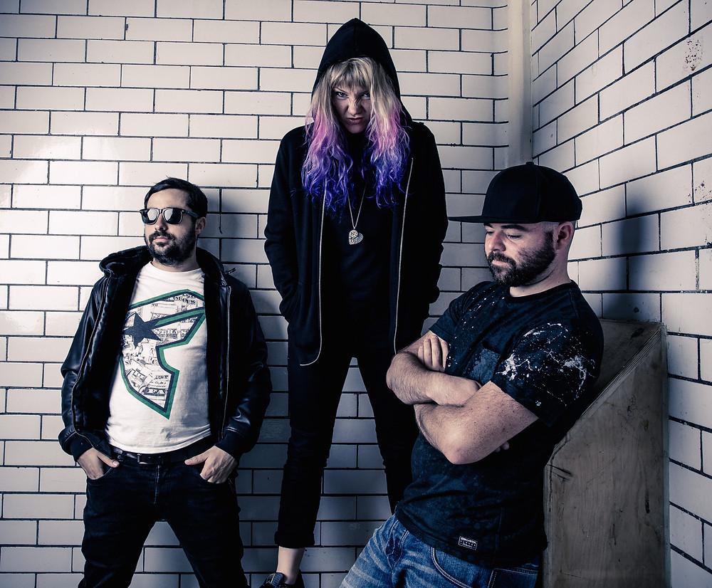 South West England based Rock/Pop/Electronic band Cosmic Ninja