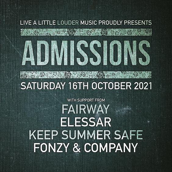 ADMISSIONS / Fairway / Elessar / Fonzy & Company / Keep Summer Safe