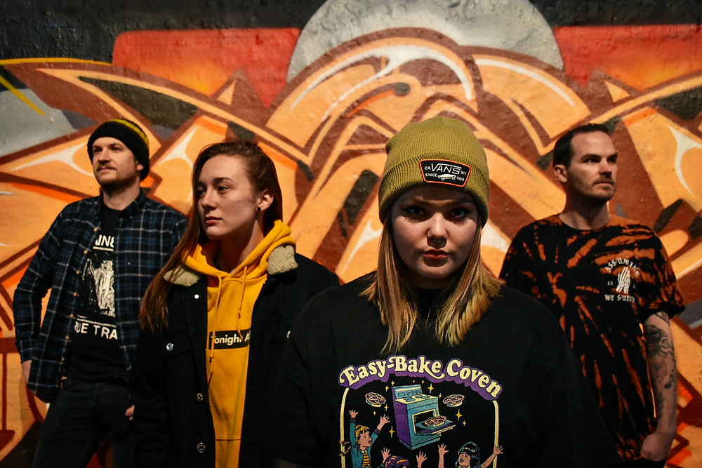 Photo of London based Pop Punk band You Over Me by Casey Fisher