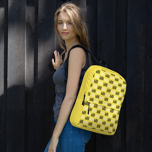 'Louder' Backpack (Yellow)