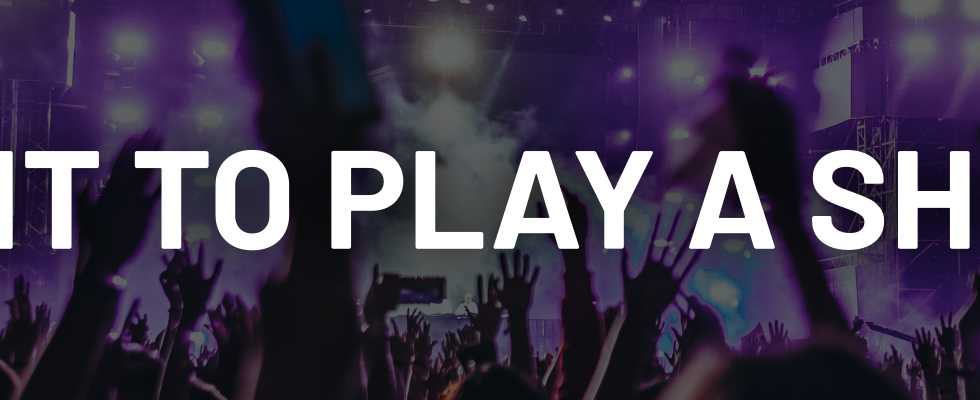 Play A Show banner