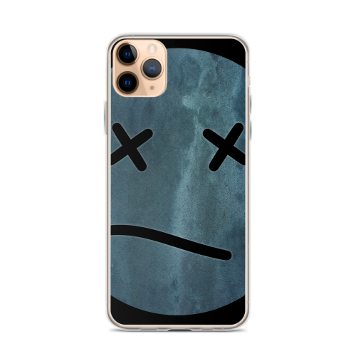 Meh face design called Sketch on an iphone case