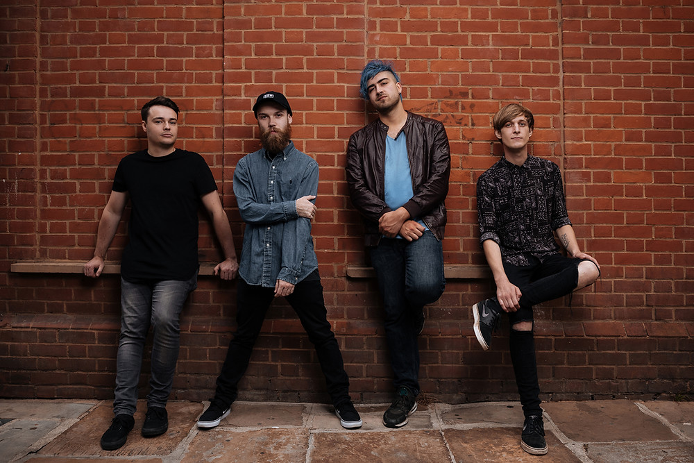 Photo of London Based Alt Rock/Pop Punk Band Fairway by Marcus Maschwitz Photography
