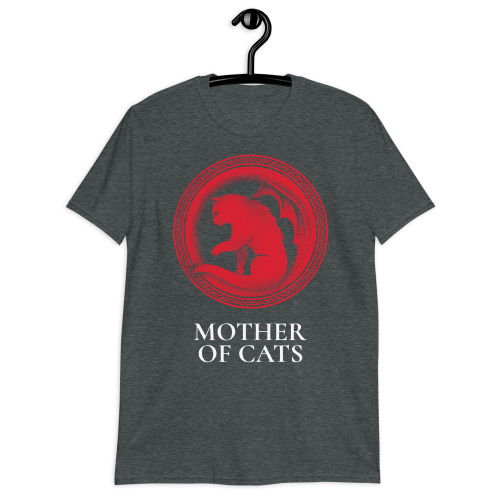 Game of thrones targaryen inspired mother of cats design on women's top