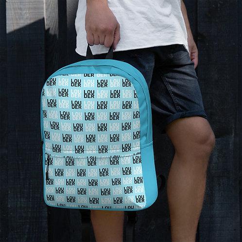 'Louder' Backpack (Blue)