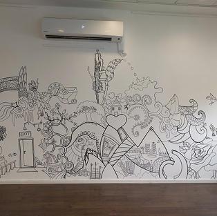 קיר אקטיבי - מרכז צעירים