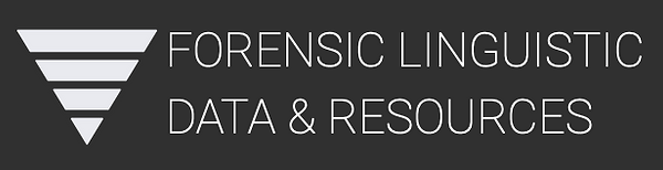 FORENSIC LINGUISTIC DATA & RESOURCES LOG