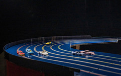 6-Lane Computer Controlled Slotfire® track
