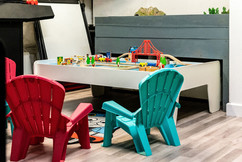 Wooden train track for Under 5's