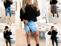 Styling A Chunky sweater