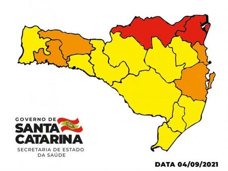 Matriz de Risco aponta duas regiões em nível gravíssimo uma o Planalto Norte