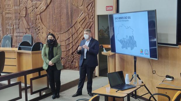 AMUNESC apresentou o Plano Diretor Participativo