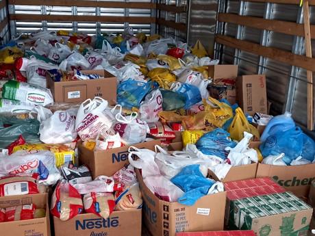 Sociedade Ginástica e Desportiva São Bento realiza doação de alimentos