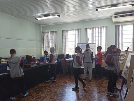 Projeto leva parte do acervo do Museu Municipal para as escolas