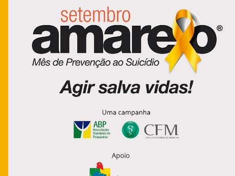 Câmara apoia o setembro amarelo