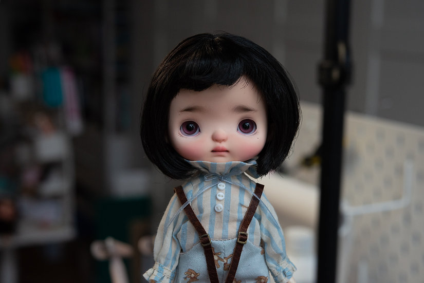 Holala doll with glass eyes